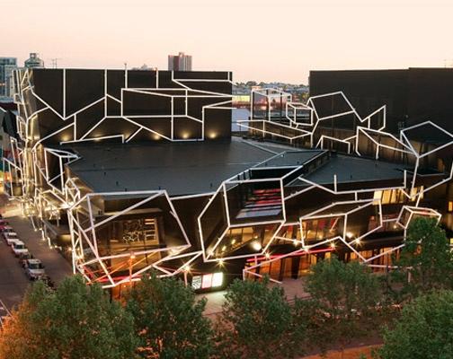 Southbank Theatre, designed by Ashton Raggatt McDougall.
