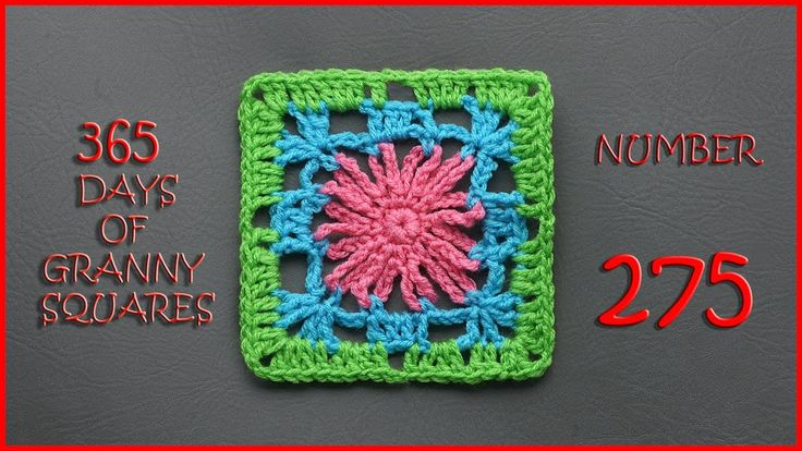 365 Days of Granny Squares Number 275