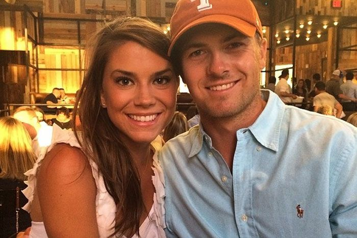 "The new ""first lady of golf"" is Jordan Spieth's long time girlfriend Annie Verret."