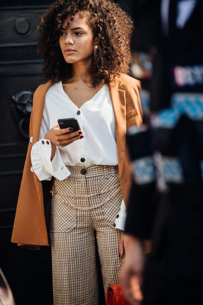 01513988e64 The best street style from London Fashion Week spring summer 2019 - Vogue  Australia