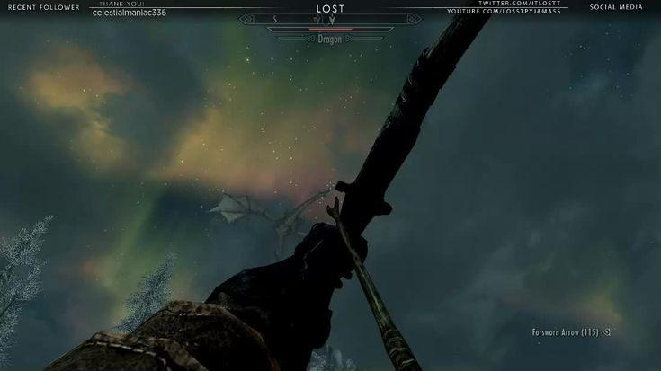 Elastic Dragon (Aka Lydia the Fireball Sniper) #games #Skyrim #elderscrolls #BE3 #gaming #videogames #Concours #NGC