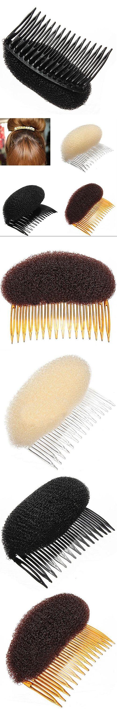 Hot 1pc Hair Styler  Hairwear Volume Bouffant Beehive Shaper Roller Bumpits Bump Foam 5BVV 7FAJ