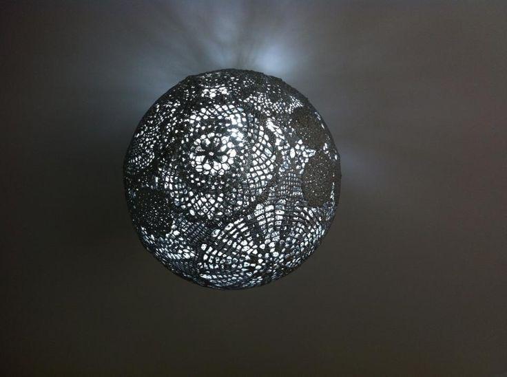 15 best dim lighting images on pinterest dim lighting for Doily light fixture