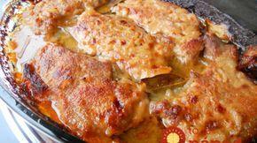 Farárske rezne: Úžasne šťavnaté a mäkučké mäsko s oblohou a omáčkou, na jednom pekáči!
