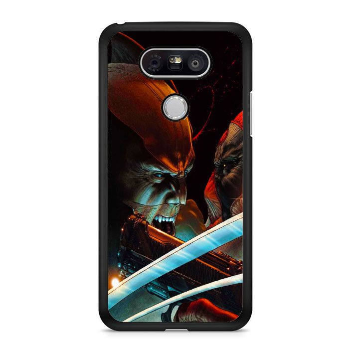 Marvel Wolverine Vs Deadpool LG G5 Case Dewantary