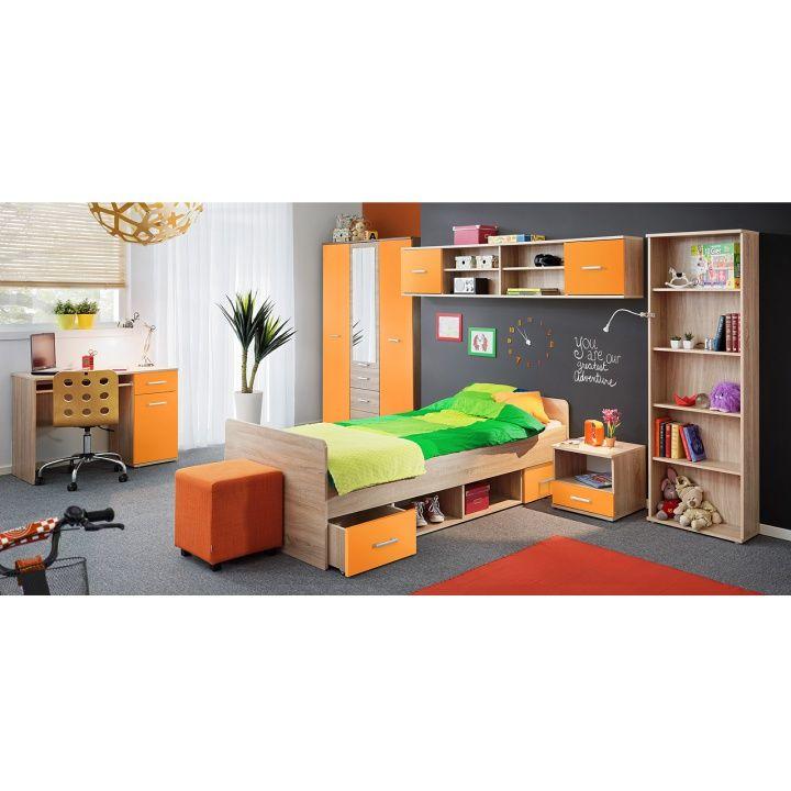 Dětský pokoj EMIO - oranžová | Nábytek ATAN