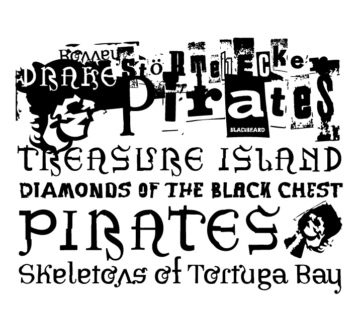 Pirates font by Floodfonts - FontSpace | Tyson's 6th ...