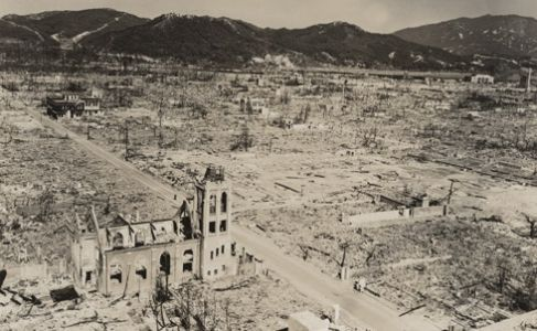 This day in history - August 6, 1945 - At 8:16 a.m. Japanese time, an American B-29 bomber, the Enola Gay, drops the world's first atom bomb, over the city of Hiroshima. Approximately 80,000 people are killed as a direct result of the blast, and another 35,000 are injured. At least another 60,000 would be dead by the end of the year from the effects of the fallout.  #thisdayinhistory #hiroshima #japan #war  Hiroshima's Aftermath: Lost Images of the First Atomic Bombing | The…