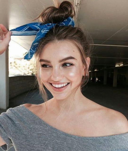 Inspiração +75 ideias para usar lenço no cabelo – Blog da Ana Liberato