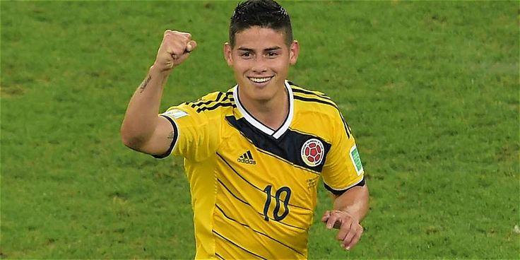 James Rodriguez Jugador Colombiano