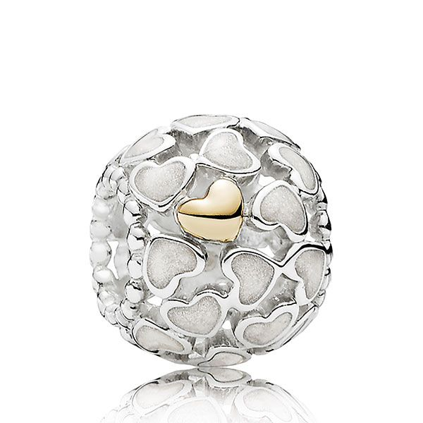 PANDORA Abundance of Love Charm, Silver & 14K - Exclusive - 11435690.jpg