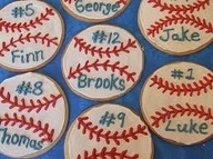 For the baseball treat day
