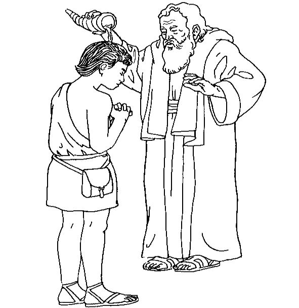 Samuel anoints the first two kings of Israel
