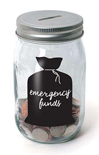 Classic Mason Jar Coin Bank - Piggy Bank for Girls Boys Kids Children - Money Saving Jar Helps in Learning to Count, Save and Development of other Basic Learning and Money Skills by Perfect Life Ideas Perfect Life Ideas