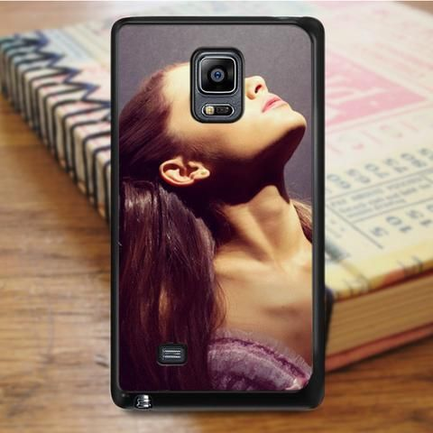 Ariana Grande Beautiful Purple Samsung Galaxy Note 5 Case