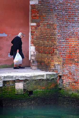 Venice, Italy - Coming Back From The Market by BBMaui, via Flickr