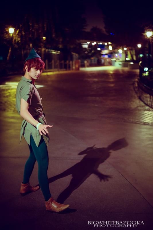 Peter Pan, cosplayed by mrdustinn, photographed by Bigwhitebazooka    Read More: http://www.comicsalliance.com/2013/01/28/best-cosplay-ever-this-week-01-28-13/#ixzz2JJ0Ve1E4