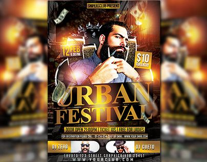 "Check out new work on my @Behance portfolio: ""Urban Festival"" http://be.net/gallery/34644191/Urban-Festival"