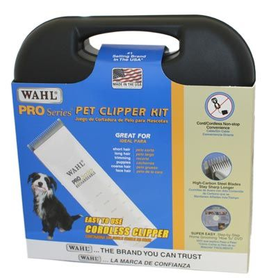 WAHL PRO Series Rechargeable Clipper from King Wholesale Pet Supplies