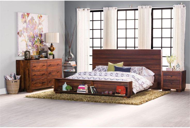 Quinn Full Platform Bed - Living Spaces