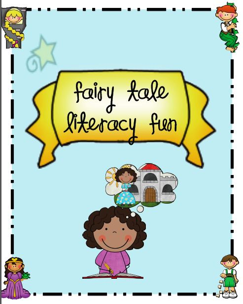 sarah 39 s first grade snippets fairy tale literacy pack teaching fairy tales with activity. Black Bedroom Furniture Sets. Home Design Ideas