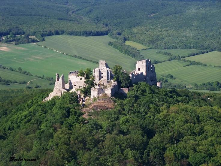 Jelenec castle, near Nitra city (Slovakia)