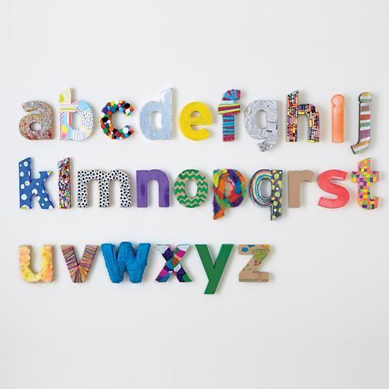 Letras De Decoracion Para Cartas ~   Pinterest  Decoraci?n De Cartas, Letras De Madera y Letras De Madera