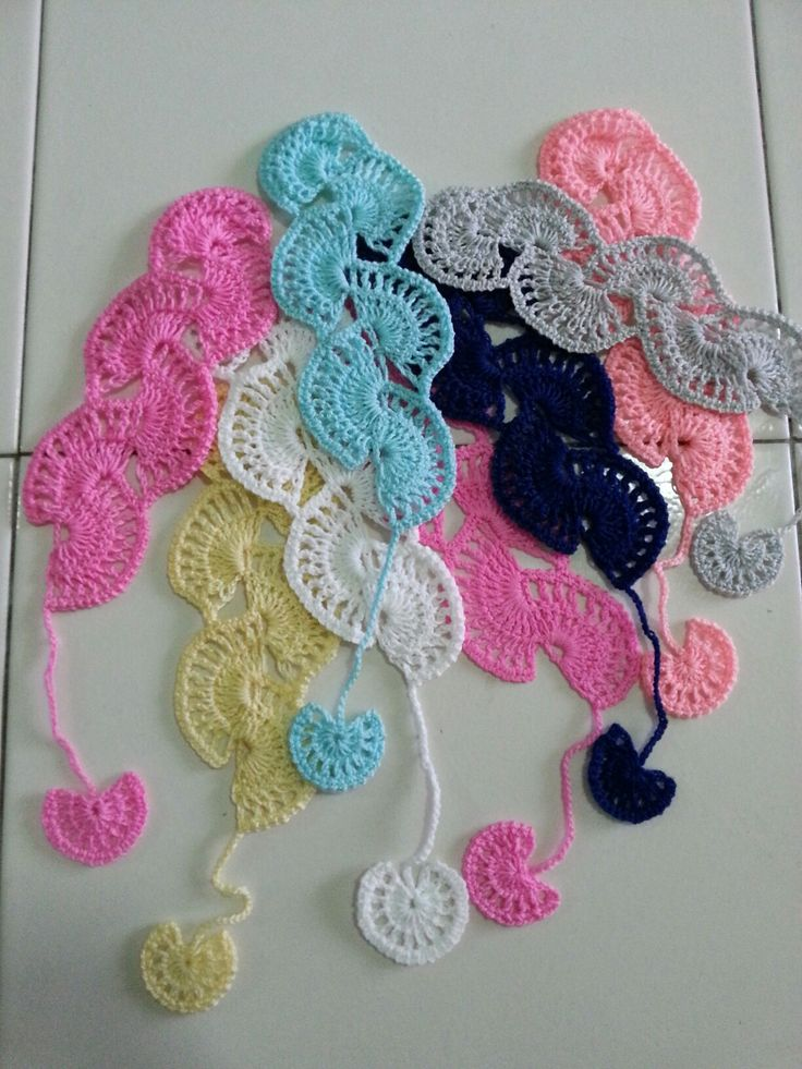 Crochet Bookmark part 2