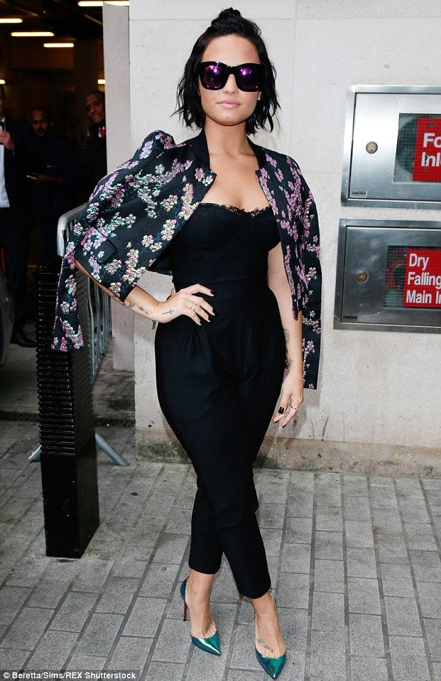 Standing tall: The Cool For The Summer hit-maker, who has openly talked about her battled ...