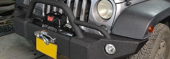 Tiros de arrastre, Portabicicletas, Remolques, Winches y Accesorios importados 4x4 de USA especializados para Jeep Wrangler y demás modelos.