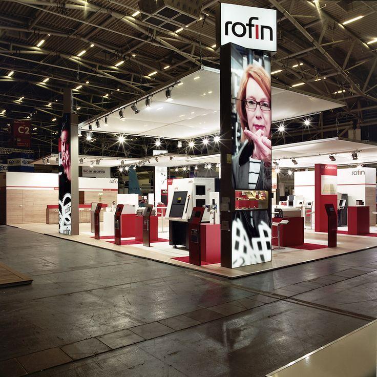 Inspirational Messestand lightwall system ROFIN SINAR Technologies