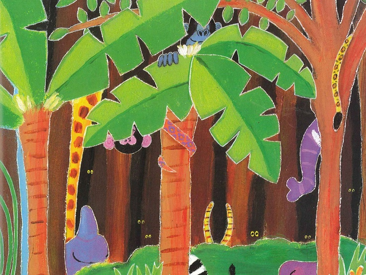 Rumble in the Jungle: Picture PowerPoint for retelling the story or sequencing work