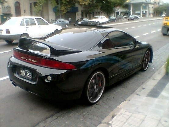 Mitsubishi Eclipse GSX - 1st car i ever bought myself.  1997