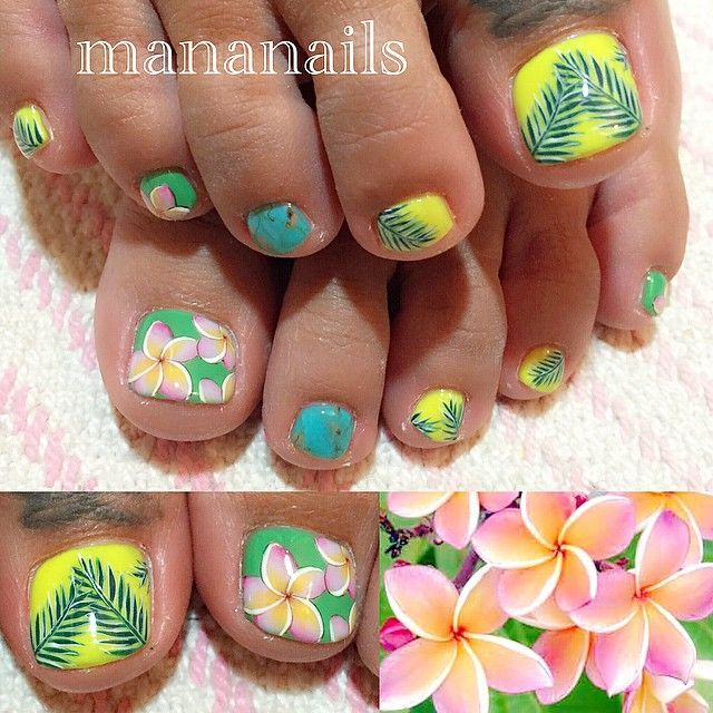 Beauty Blog Mananails On Instagram Plumeria