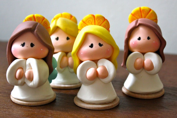 Angel Baptism First Communion Party Favor por gavo en Etsy, $12.00