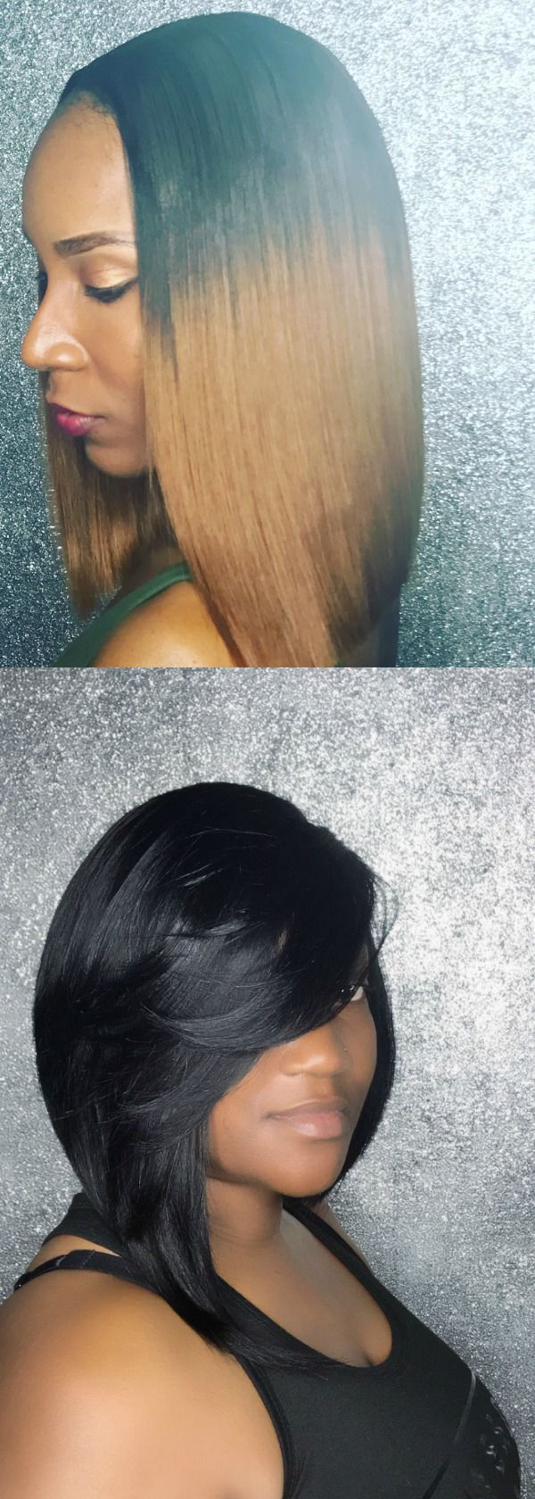 Quick weave bobs are perfect for summer!!!!!