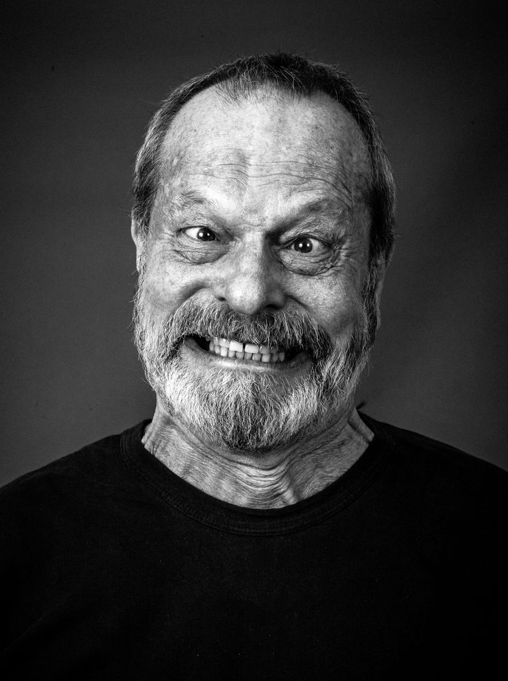 Terry Gilliam (1940) - American-born British screenwriter, film director, animator, actor and member of the Monty Python comedy troupe.  Photo by Andy Gotts