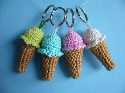 Patroon om ijsje te haken, crochet icecream