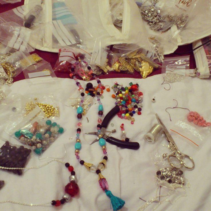 shuuforyou working design designer jewelry handmade craft fashion jewelry bisuteria blogger accessories accesorios moda material necklace