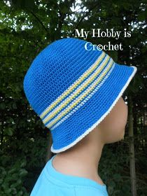 child crochet sun hat free pattern