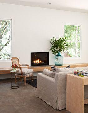 Houseplans.com Modern Ranch - modern - Living Room - San Francisco - Michele Lee Willson Photography