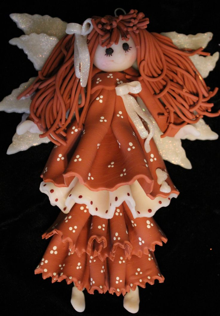 Fairy Polymere Clay Doll