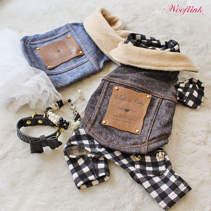WOOFLINK - Hip designer dog clothes: HIPSTER'S VEST ♥