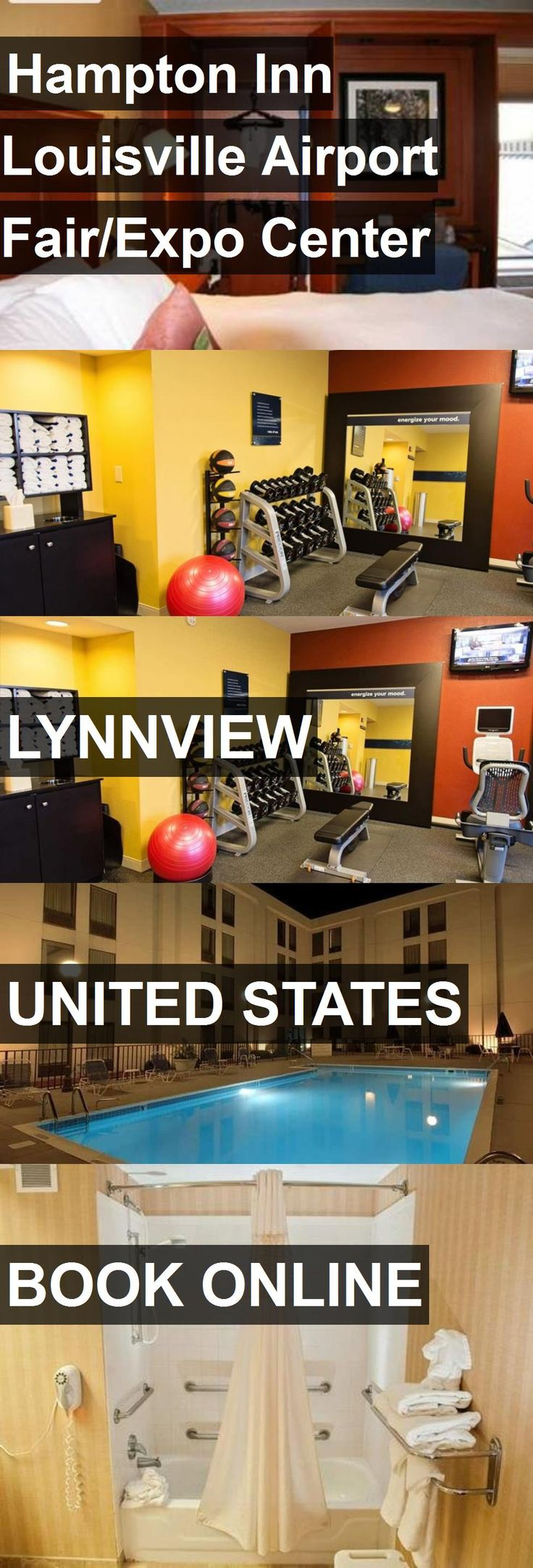 Hotel Hampton Inn Louisville Airport Fair/Expo Center in Lynnview, United States. For more information, photos, reviews and best prices please follow the link. #UnitedStates #Lynnview #travel #vacation #hotel
