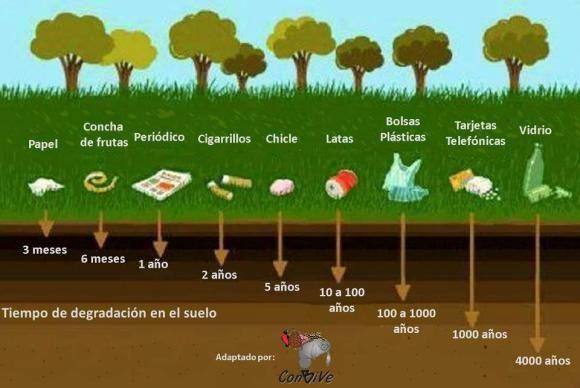 El reciclaje natural