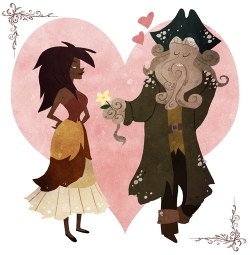 *PIRATES OF THE CARRIBEAN  Best love story ever.