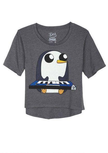 Adventure Time Gunter shirt