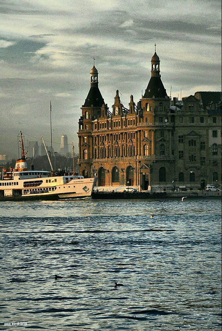 Haydarpaşa. İstanbul. Turkey. Fotograf: Emin Küçükserim