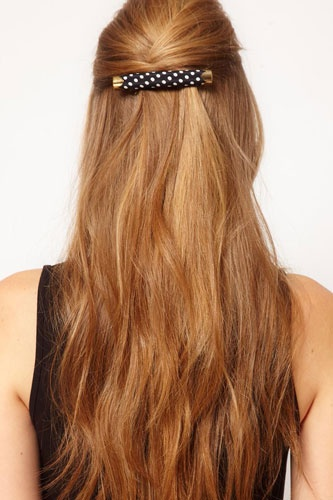 Barrette Hairstyles 10 Best Easy Hairstyles For Traveling Images On Pinterest  Hair Dos
