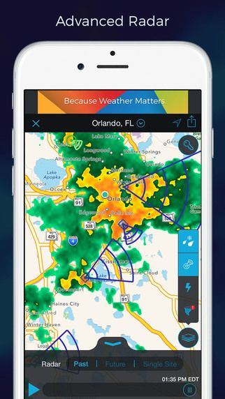 Storm - Radar, Storm Tracking, Hurricanes, Accurate Lightning ...